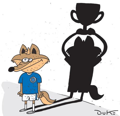 Melhor definição para a situação do Cruzeiro na Libertadores é essa do Duke, no jornal Super Notícia de hoje