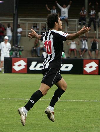 Wendel, uma das boas promessas da base do Atlético. Foto, Bruno Cantini
