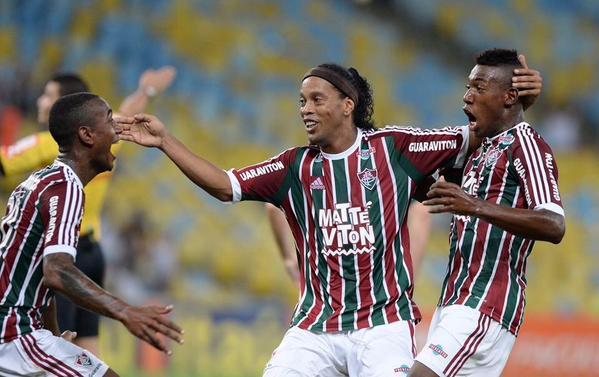 Depois de 79 dias Ronaldinho Gaúcho agradece e se despede do Fluminense 3926543d41e16