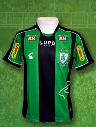 beb509441c Empresa de Juiz de Fora fecha patrocínio com o América para estampar marca  na camisa