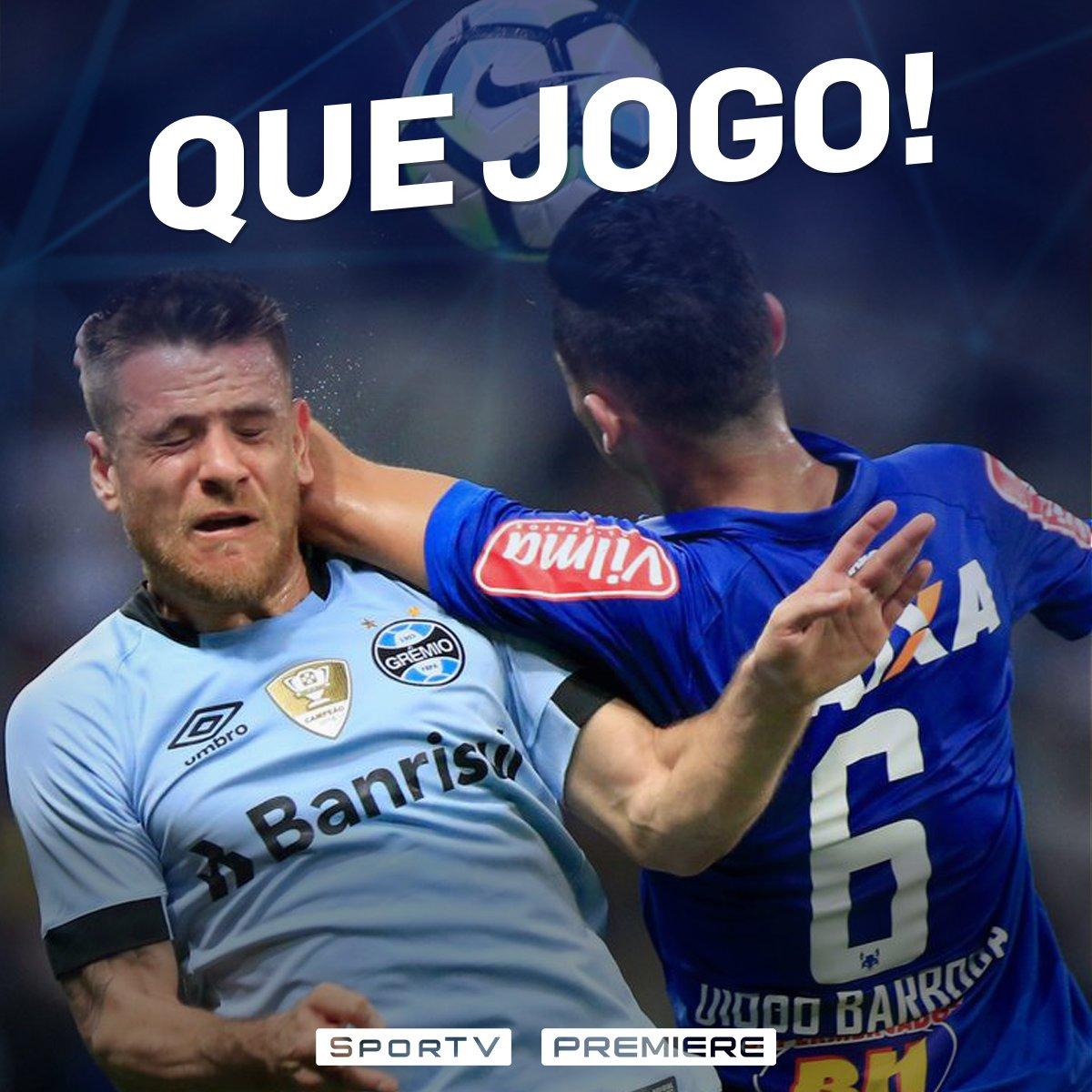 """""""Este 3 a 3 de Cruzeiro e Grêmio foi o melhor jogo do campeonato até agora…"""" 24bbb90a58793"""