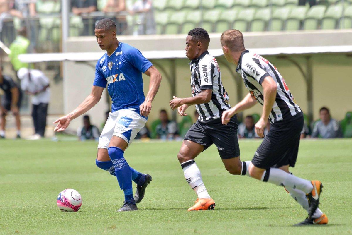 37dff5f2ee No calor do Independência prevaleceu a melhor pontaria do Cruzeiro ...