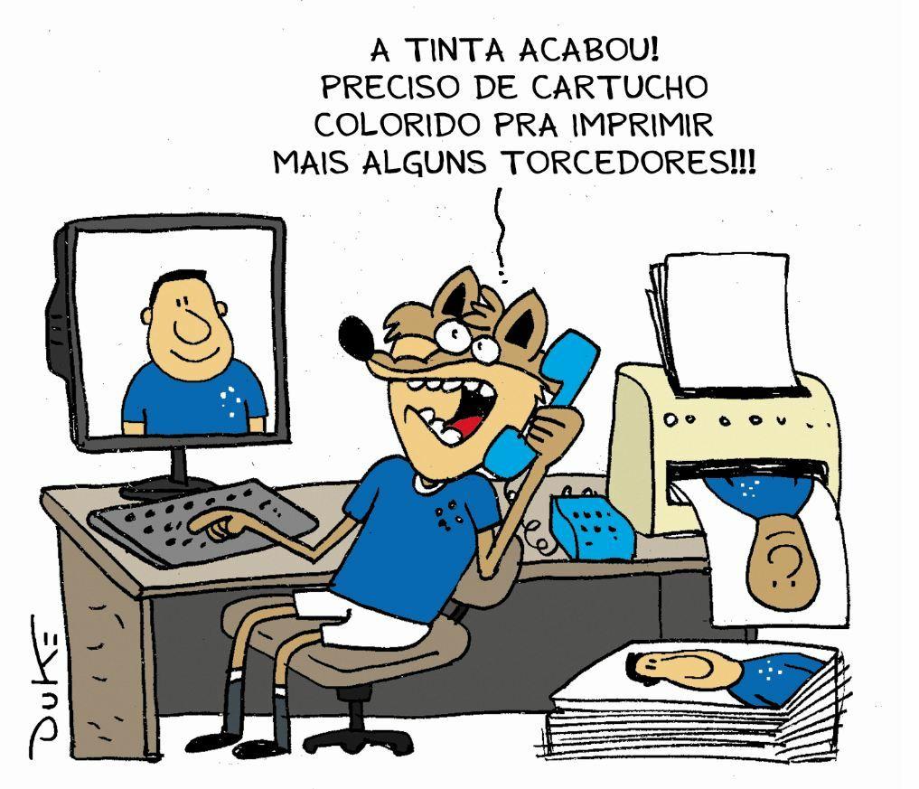 991aaa2009135 Torcida de papelão e motorista com a camisa do Atlético dirigindo ônibus do  Cruzeiro